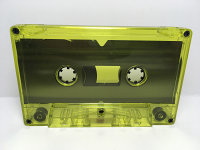 C-35 High Bias Yellow Tint Cassettes 10 Pack