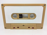 C-31 Normal Bias Butter Scotch Brick Labeled Cassettes 20 Pack