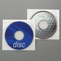 Tamper Resistant Poly Adhesive Sleeve for CD/DVD