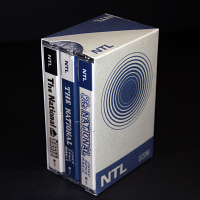 Printed Slipcase for 3 Audio Cassettes