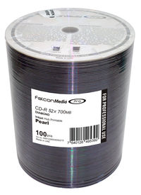 Falcon CD-R Diamond Silver Pearl Inkjet Printable #215