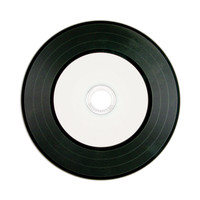 Digital Vinyl CD-R 80MIN 700MB White Inkjet Printable, Hub Printable 50pk