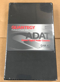 Quantegy ADAT DM42 42 Minute Tape Made in Japan