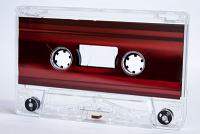 C-38 Normal Bias Metallic Red Foil Cassettes 5 pack