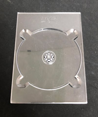 DVD Digi Tray - Clear With Logo