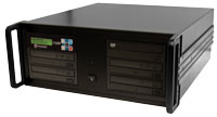"CopyWriter PRO 1 to 4 DVD/CD duplication 19"" rack mount"