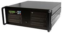 """CopyWriter PRO 1 to 4 DVD/CD duplication 19"""" rack mount"""