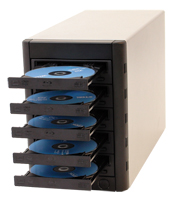 CD-DVD MultiWriter Tower - PC Direct to Drives