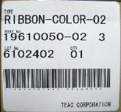 Teac Ribbon (Color)
