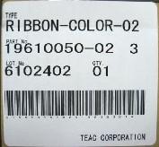 Teac Ribbon (Color)