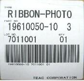 Teac Ribbon (Photo)