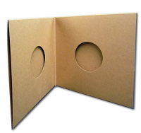 10 Inch Chipboard Double Gatefold Record Jackets