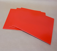 RED 7 Inch Record Jackets - 100 Pack