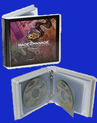 20 disc 2-ring Binder