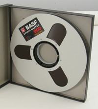 BASF SM900 Maxima 1/2 Inch Mastering Tape on Metal Reel