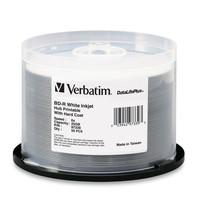 BD-R 25GB 6X DataLifePlus White Inkjet Printable, Hub Printable - 50pk Spindle