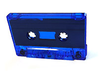 C-23 Normal Bias Blue Tint Sonic Cassettes 21 pack.