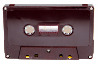 C-26 Normal Bias Burgundy Cassettes 20 pack