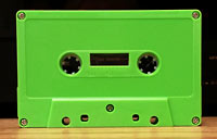 Blank Cassette Tapes Custom-Loaded With Music Grade Normal Bias Tape And Your Choice Of Color