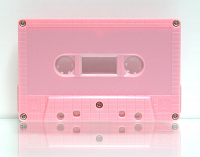 C-102 Normal Bias Pink Brick Cassettes 20 Pack