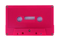 C-50 Normal Bias Rubine red cassettes 10 pack
