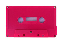 SALE: Blank Red Rubine Cassette Tapes Custom-Loaded With Music Grade Normal Bias Tape