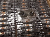 C-40 Cobalt High Bias Tape in Transparent Cassette
