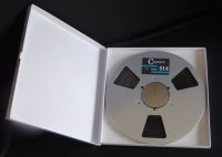Capture 918 Reel to Reel Audio Mastering Tape 10.5 Inch Metal Reel With Box, 1/2 Inch x 2500 Feet