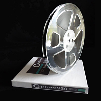 Analogue Capture 930 Reel to Reel Audio Tape, 1800 Feet On 7 Inch Plastic Reel