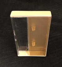Gold and Clear Cassette Box
