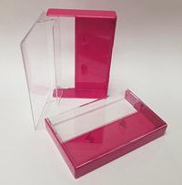 Rubine Red Cassette Box