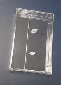 Premium Cassette Case with Square Corners