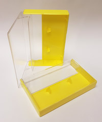 Yellow Cassette Box