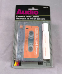 Audio Cassette Head Cleaner