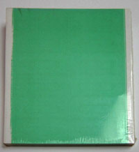 Green Audio Cassette Labels 12-up