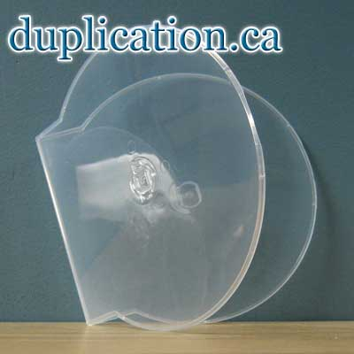 Clear CD Clamshell