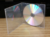 New Super Clear CD Poly box, Slim, 5 inch, with sleeve PP5FS
