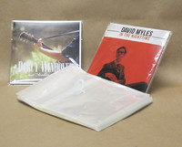 Resealable Sleeve for CD Jackets 100pk