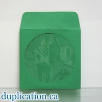 Green disc sleeves