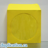 Yellow disc sleeves