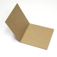 Chipboard CD Gatefold with 1 Pocket