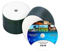 CMC-PRO (formerly Taiyo Yuden) 52X Watershield CD-R (50 pieces)