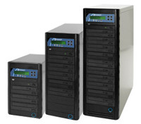 CopyWriter Premium CD/ DVD duplication towers, 3 to 10 Drives