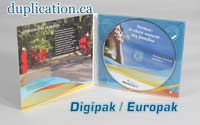 1000 CD Digipak Replication Package