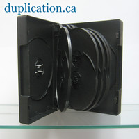 DVD 12 Disc Cases, 80 Pieces with Free Shipping Quebec-Montreal-Ottawa-Toronto-Windsor