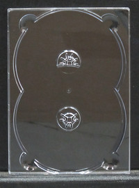 Double DVD Digi Tray for gluing onto board, 10080 Pieces