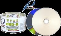 Rodisc 16X Glossy Silver Inkjet Printable DVD-R 50pk