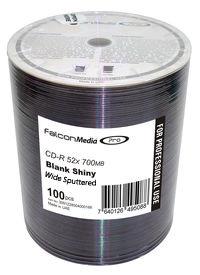 Falcon CD-R Blank Shiny Hub Printable #501