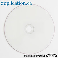 Falcon DVD-R 8X White Thermal Hub Printable
