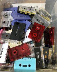 Random High Bias Blank Cassettes
